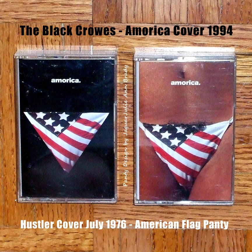 The Black Crowes Amorica Cover - 1994