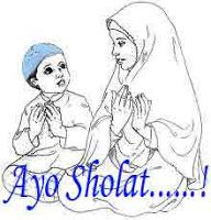 Ayo+Sholat Gambar DP BBM Islami Terbaru
