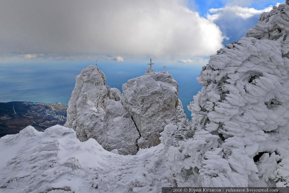 Ай-Петри зимой (16 фото)