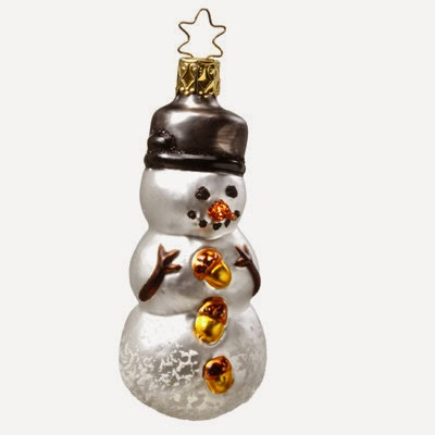 http://www.trendyornaments.com/dressed-to-the-nuts-snowman-christmas-ornament-inge-glas-of-germany.html