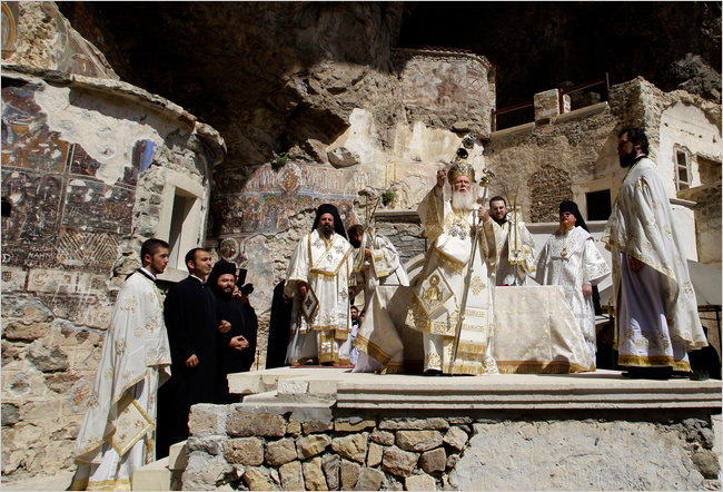 Turkey cultivates sites of Its Christian heritage