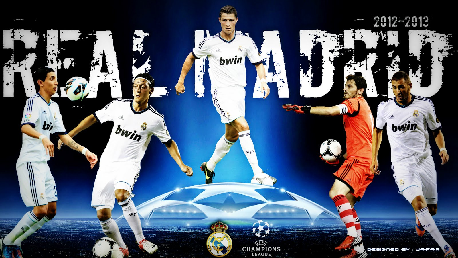 Football: Real Madrid Soccer HD Wallpapers 2012-2013