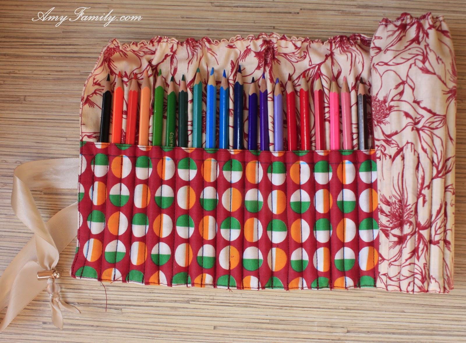 Как сделать кейс для карандашей