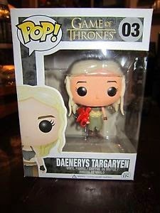 Funko Pop! Daenerys Targaryen w/ All Red Dragon (Production Error)