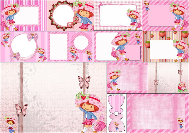 Strawberry Shortcake Printable Invitation Free orderecigsjuiceinfo