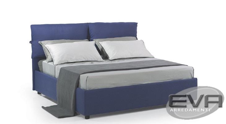 un esempio letto palma in tessuto con contenitore rete a doghe inclusa nel prezzo a soli 29900 acquistabile anche on line solo per pochi giorni