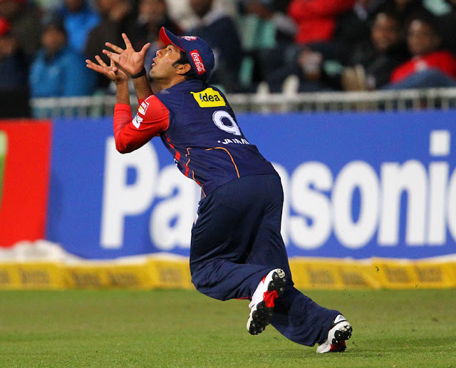 Unmukt Chand catching