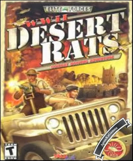 WWii Desert Rats Cover, Poster