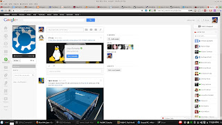 Blue Mint Linux community on G+