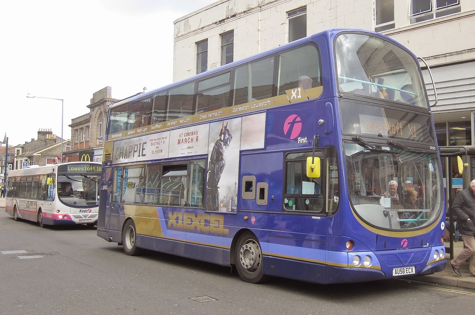 First Bus Changes In Great Yarmouth Lowestoft