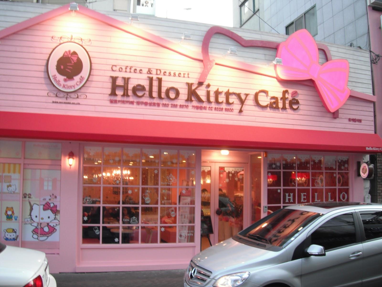 My career in korea hello kitty cafe - Casa hello kitty ...