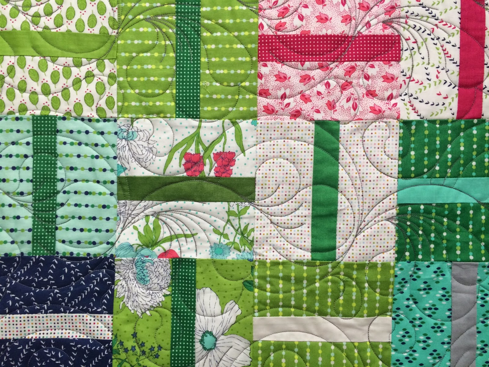 Anna King's Little Connections Quilt