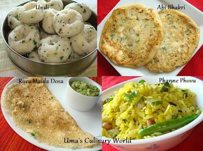 Konkani Breakfast