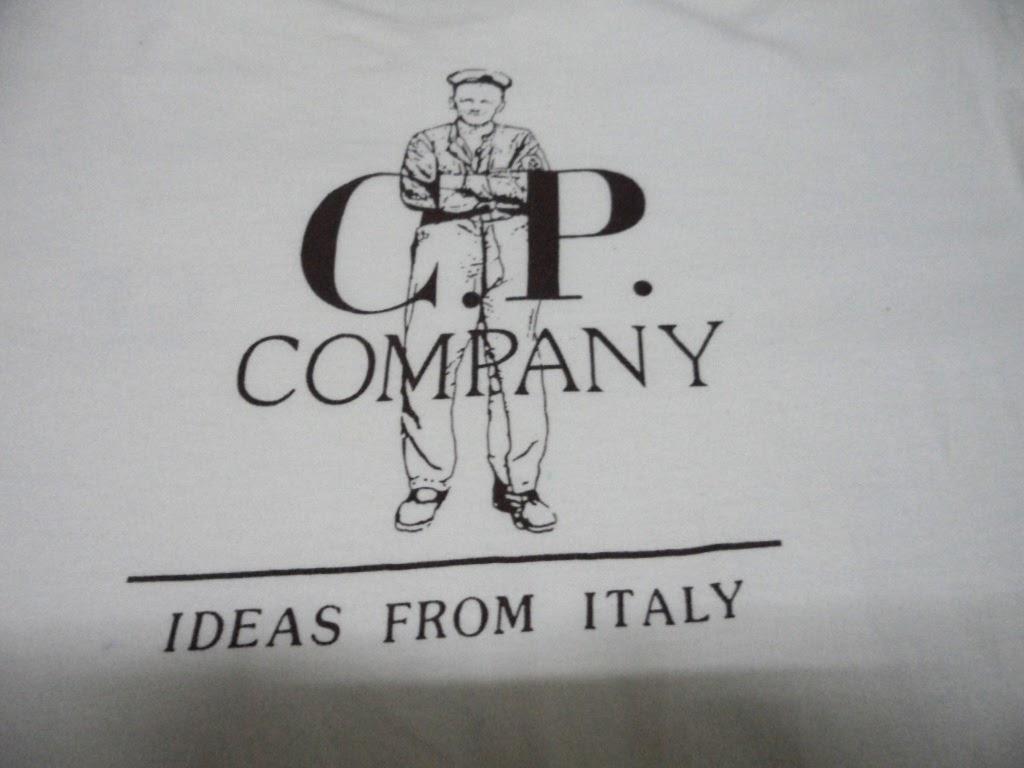 Clayback bush thrift store t shirt vintage c p company for Vintage t shirt company