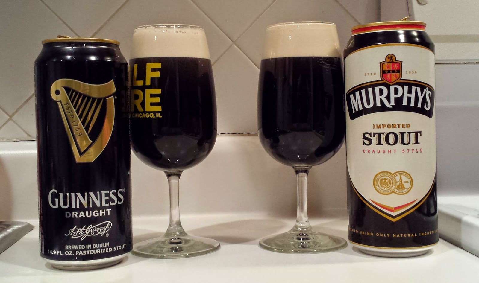 Not another beer review guinness draught vs murphy 39 s for Guinness beer in ireland