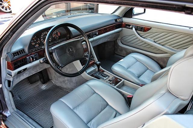 c126 amg interior