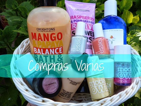 Compras Varias, Mini reseñas y disculpas a mis suscriptoras!!!!!
