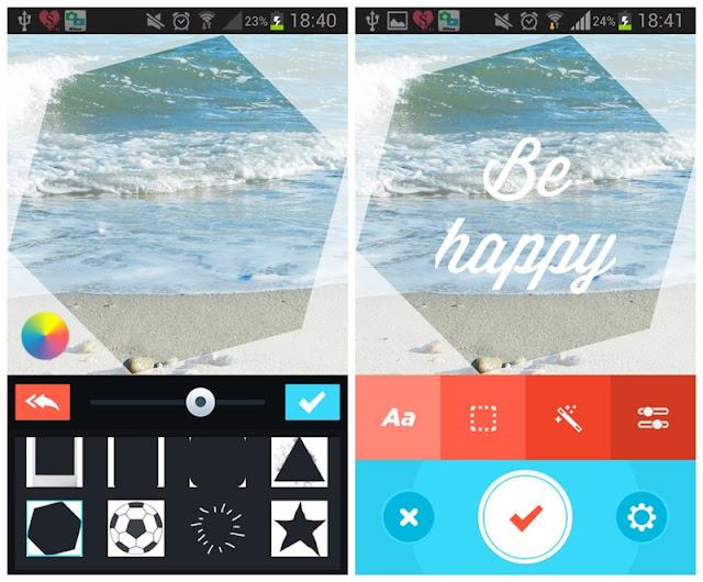 Android : mes applications photos préférées : PicLab