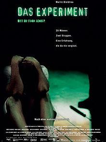 das experiment movie poster