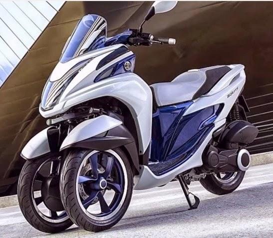Gambar Yamaha Tricity mw125