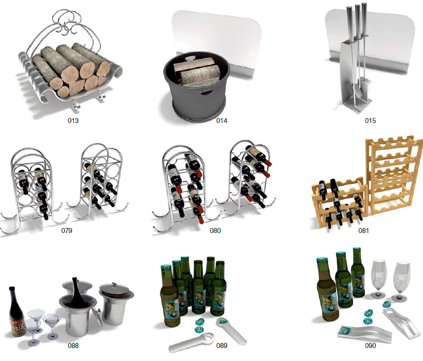 Archmodels archmodels vol 19 utensilios de hogar for Utensilios de hogar