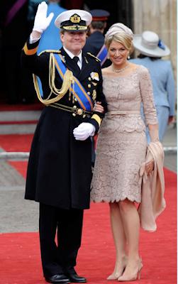 Kroning Willem Alexander kleding