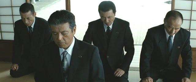 криминальный фильм Такеши Китано Беспредел (Outrage, 2010)