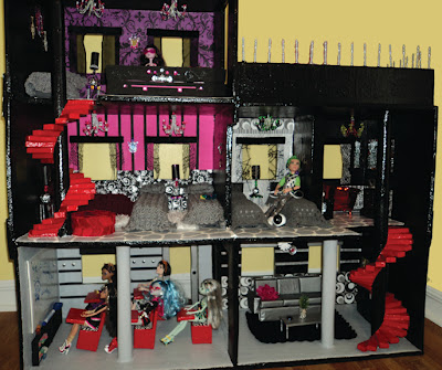Dolls For Everyone How To Make A Monster High Doll House