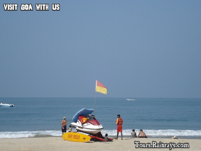 Tourist Place Baga Beach Goa India. India Tour Packages, Holiday Packages India, Best Travel Packages