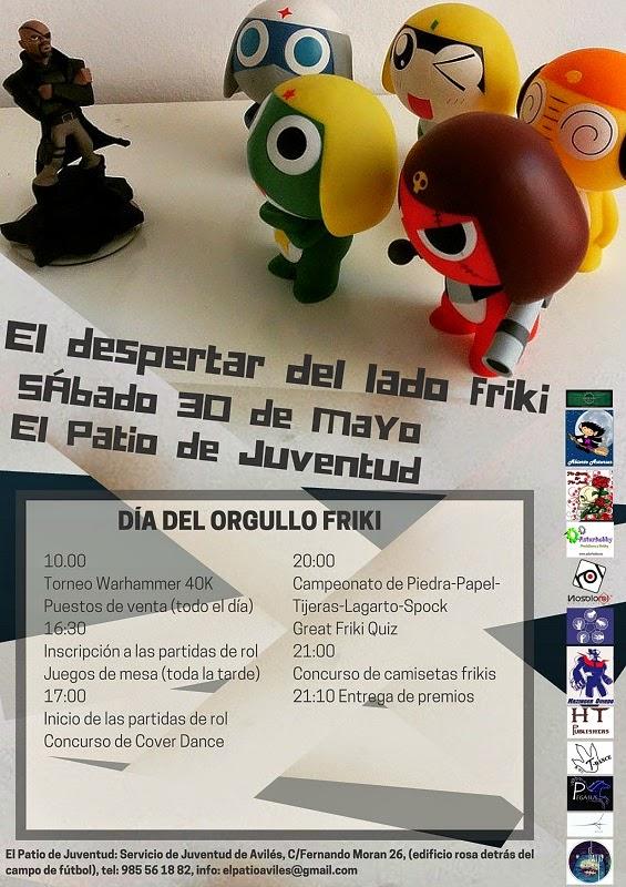 #Asturias con niños: El Día del Orgullo Friki en Avilés