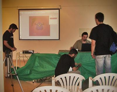 Ajustando todo para el Workshop de Ilustración Digital