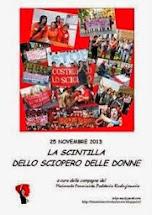 Richiedi il dossier sullo storico sciopero delle donne del 25 novembre 2013 a cura del Mfpr