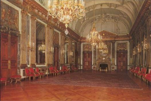 Royalement blog palais royal de bruxelles la salle des glaces - Salon de the palais royal ...