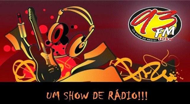 93 FM - A MELHOR RÁDIO DA CIDADE