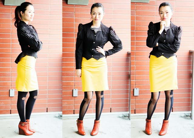 Vancouver Fashion blogger Jasmine Zhu wearing shabby apple guinea a minute dress