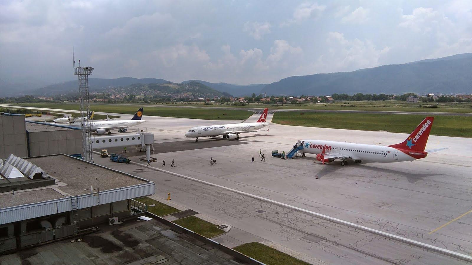 Sarajevo Airport by Kontrola letenja