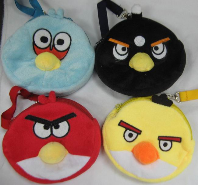 Angry birds bags