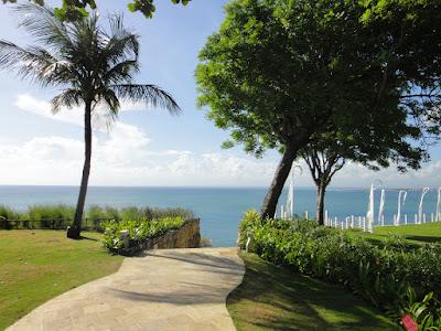 Path to Rock Bar at Ayana Resort and Spa Bali Jimbaran