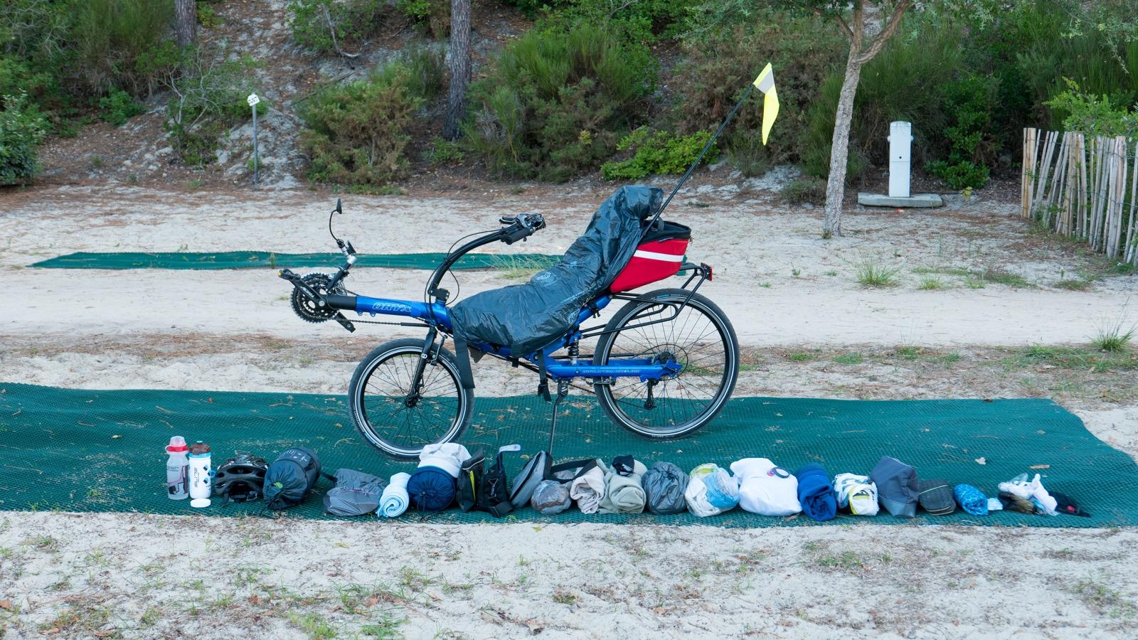 En v lo de bordeaux bayonne par les pistes cyclables for Conjonctivite et piscine