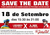 Hipódromo do Cristal - Dia 18 de Setembro - DESAFIO DE CAMPEÕES DO TURFE MUNDIAL - RICARDO X BAZE
