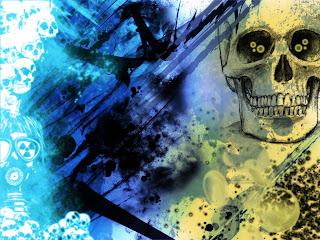 Everybody Is Dead Dark Gothic Wallpaper