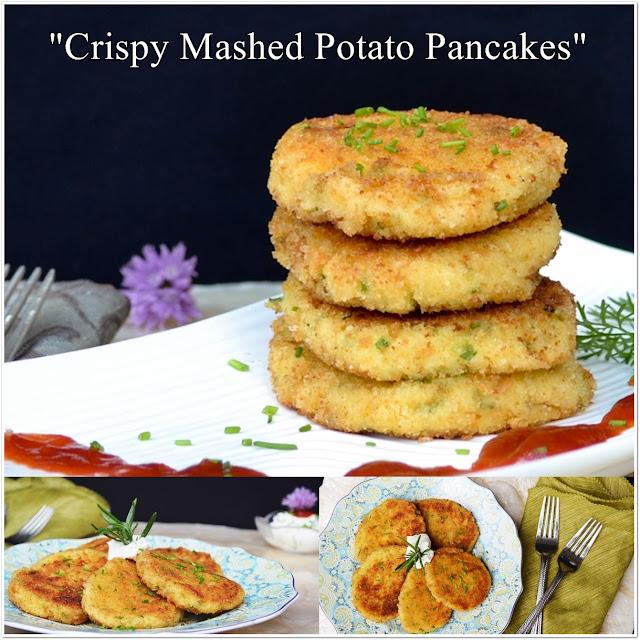 Lea's Cooking: Crispy Mashed Potato Pancakes