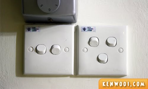 home light switches