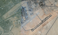 Overview of Cairo International Airport, Egypt