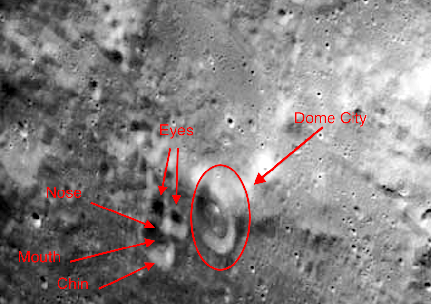 UFO SIGHTINGS DAILY: Glass Dome Found on Moons Surface, NASA ...