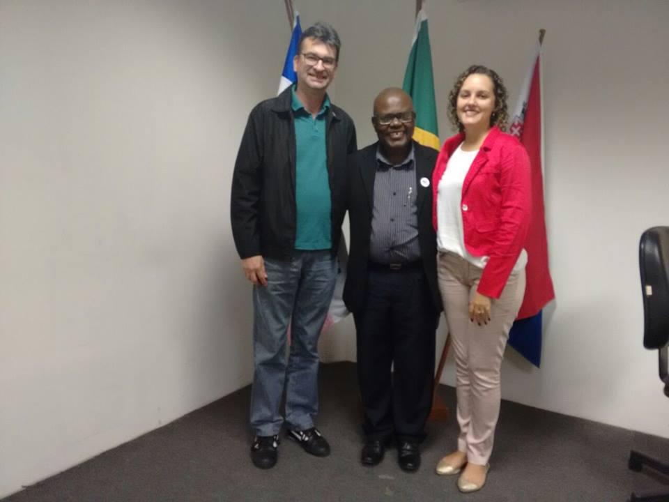 Sâmela Ferreira é Presidenta do COMSEA-V Velha! Alcemi Barros e Pedro Kitoko integram o conselho