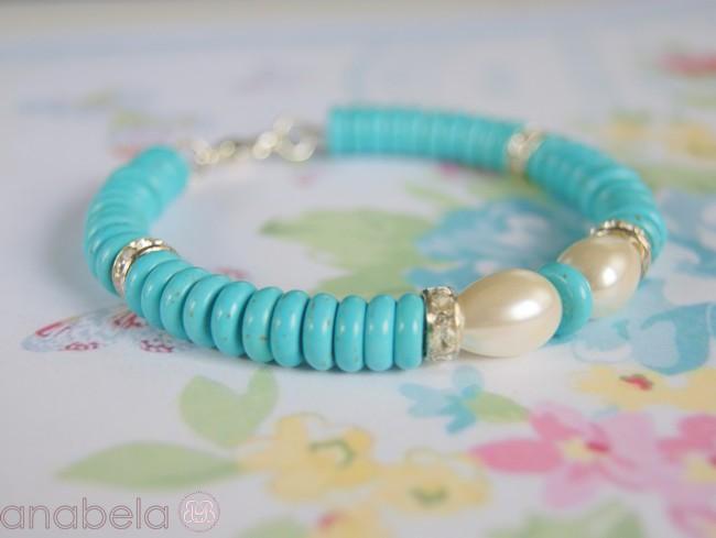 pulsera-azul-turquesa-perlas