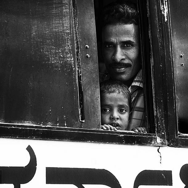 Retratos a preto e branco - fotografia de viagem - Alessandro Neri