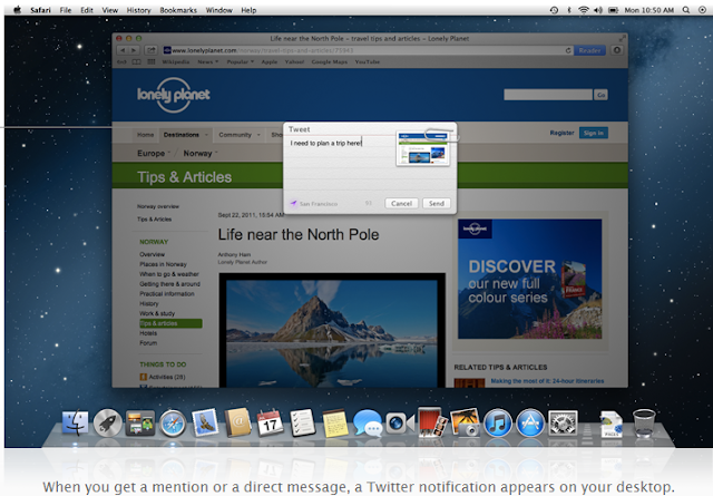 5 new features of Mac OS X Mountain Lion