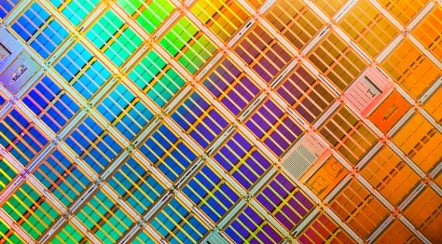 NAND flash memory die